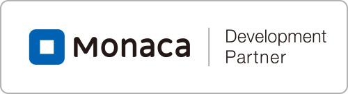 Monacaパートナーロゴ